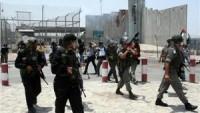 Siyonist İsrail güçleri, Kalandiya Mülteci Kampını bastı