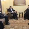 Cabiri Ensari, Seyyid Nasrullah ile görüştü