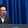 Tahran cuma hatibi: İnkılab siyonist rejim İsrail'in sınırlarında güçlü bir şekilde bulunuyor