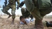 Siyonist rejim zindanlarında bulunan çocuk esir sayısı 280'e ulaştı