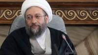 Ayetullah Laricani: Müslümanlar Afganistan'da IŞİD ve el-Kaide'ye tepki göstermeli