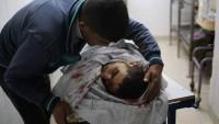 Siyonist İsrail Güçleri Gazze'yi Bombaladı: 1 Şehid, 2 Yaralı