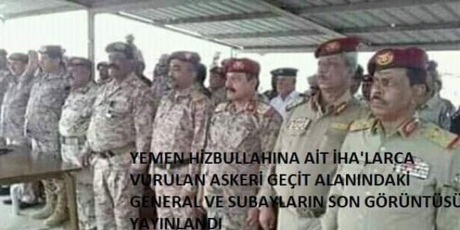 Yemen Hizbullahı Suud İşbirlikçilerinin Ana Karargahını İHA'larla Bombaladı: Aralarında 2 General Ve 23 Subayın da Bulunduğu 60 Suud İşbirlikçisi Öldü, 120 İşbirlikçi de Yaralandı.