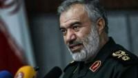 General Ali Fedevi: Teröristler İslam inkılabı muhafızlarından sağlam bir cevap alacaktır