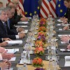NATO liderleri Brüksel'de toplandılar