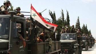 Suriye ordusu terör rejimi İsrail karşısında olağanüstü duruma geçti