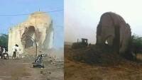 Teröristler 700 Yıllık Türbeleri Yıktı
