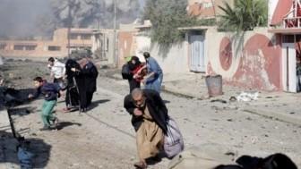 Teröristlerin hava topu saldırısında 11 Suriyeli sivil öldü