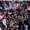 Suriye Halkı Trump'ın Golan Kararını Protesto Etmek İçin Sokaklara Döküldü