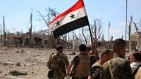 Suriye Ordusu Şam'da Teröristleri Püskürttü