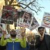 Suudi veliahdının Londra ziyareti protesto edildi