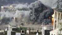 Suudi Arabistan'ın Yemen halkına saldırıları sürüyor