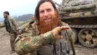 Teröristlerin efsane komutan dedikleri Müslim El Çeçeni adlı azılı tekfirci Suriye'de gebertildi
