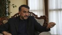Emir Abdullahiyan: Siyonistlerin Filistin'in geleceği konusunda bir yeri olmayacak
