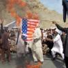 Afganistan'ın başkenti Kabil'de, ABD karşıtı gösteri düzenlendi