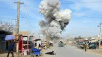 Afganistan'ın Helman kentinde emniyet müdürlüğüne saldırı düzenlendi
