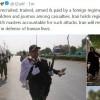 Zarif: terörizm hamileri ve onların Amerika'lı ağaları, Ahvaz terör olayının sorumlusudur