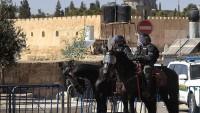 Siyonistler Mescid-i Aksa'ya girdi