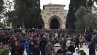 İşgal Rejimi Gazzelilerin Cuma Namazı İçin Aksa'ya Gitme İzinlerini İptal Etti