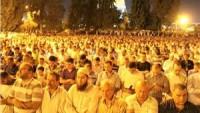 Dün gece 350 binden fazla Müslüman, Kadir Gecesi'ni Mescidi Aksa'da ihya etti