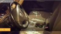 Cenin'in Güneyinde Otomobili Taşlı Saldırıya Uğrayan Siyonist Yerleşimci Yaralandı