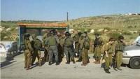 Ramallah vilayetinin doğusunda iki siyonist asker yaralandı