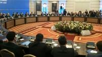 Astana'da ilk tur müzakereler sona erdi
