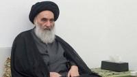 Ayetullah Sistani barışçıl gösterilere destek verdi