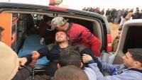 Büyük Dönüş Yürüyüşü'nün Dördüncü Gününde 10 Filistinli Yaralandı 