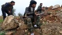Lazkiye'nin Kinsabba bölgesinin temizlenmesi ile teröristler Türkiye sınırına doğru kaçmaya başladılar