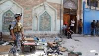 Bağdat'ta camiye intihar saldırısı: 8 şehid