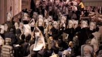 Bahreyn halkı Şeyh İsa Kasım'a destek yürüyüşü yaptı