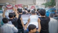 Bahreyn halkından direniş liderlerine destek