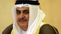 Bahreynli bakan siyonist başbakan Netanyahu'nun açıklamasından mesut oldu
