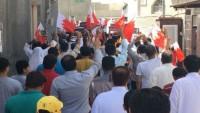Bahreynliler, Al-i Halife rejimini protesto etti