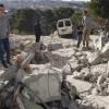 Siyonist İsrail Rejimi Filistinlilere ait 10 barakayı yıktı