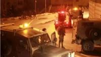 Siyonist İsrail Güçleri Beytlahim'in Kuzeyindeki Ayide Kampı'na Baskın Düzenledi