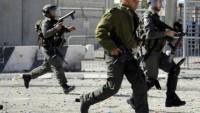 Siyonist İsrail Askerleri Batı Şeria'daki Gösterilere Sert Müdahalede Bulundu