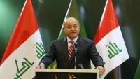 Irak Cumhurbaşkanı IŞİD ile mücadelede yardımlarından dolayı İran'a özel teşekkür etti