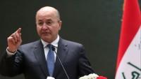 Irak Cumhurbaşkanı Berham Salih: Ruhani'nin Irak ziyareti çok önemli