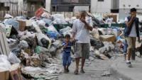 Lübnan'da çöp krizi tekrar patlak verdi