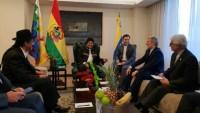 İran Savunma Bakanı Bolivya Cumhurbaşkanı ile görüştü