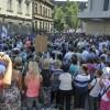 Bosnalı işçiler, yeni yasa tasarısını protesto etti
