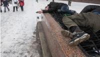 Bulgaristan'da sığınmacı kadın donarak öldü