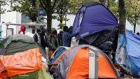 Calais mülteci kampının boşaltılmasından sonra bölgede kalan çocukların tahliyesine başlandı