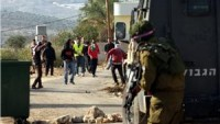 Siyonist İsrail Güçleriyle Filistinliler Arasında Yaşanan Çatışmada 3 Genç Yaralandı