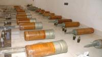 Suriye'nin Süveyda eyaletinde teröristlerden yüklü miktarda mühimmat ele geçirildi
