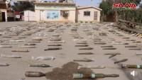 Deyrezzor Kırsalında IŞİD'in Cephane Depolarında Kimyasal Madde ve İsrail Silahları Bulundu