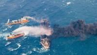 İranlı yetkili: Yanan gemi Cuma günü kontrol altına alınabilir