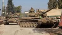 Deyrezzor yolunda IŞİD'in savunması çöktü, Suriye ordusu hızla ilerliyor